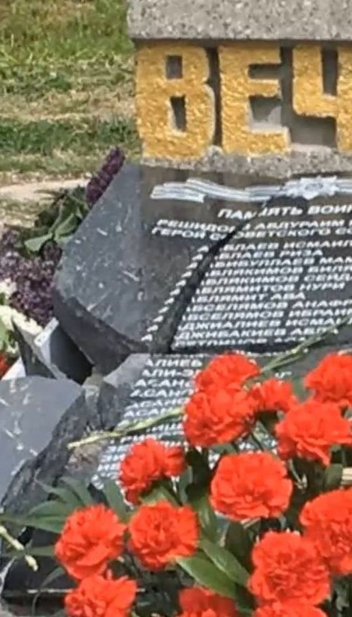 В окупованому Криму розбили пам'ятник загиблим на війні кримським татарам