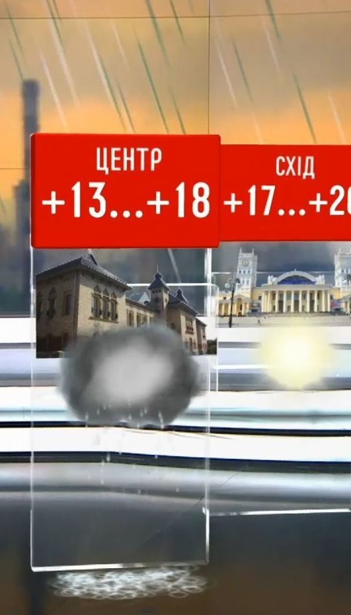 Прогноз погоди: в Україну повертаються дощі