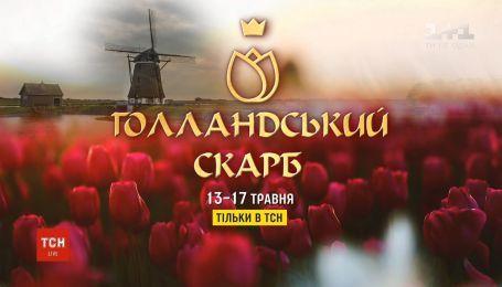 """ТСН покажет спецпроект """"Голландское сокровище"""""""