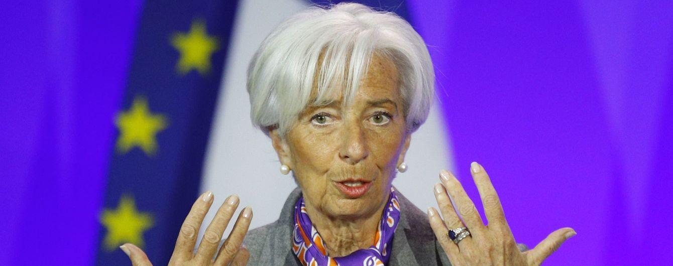 Лагард приостановила свое руководство в МВФ