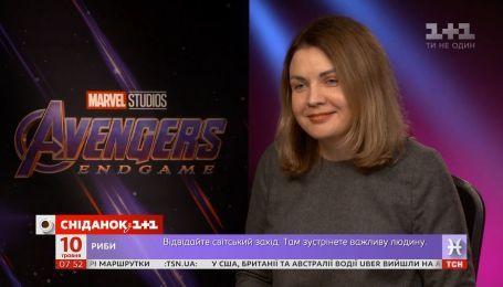 """Як журналістці """"Сніданку"""" єдиній вдалося записати інтерв'ю з режисерами та акторами """"Месників"""""""