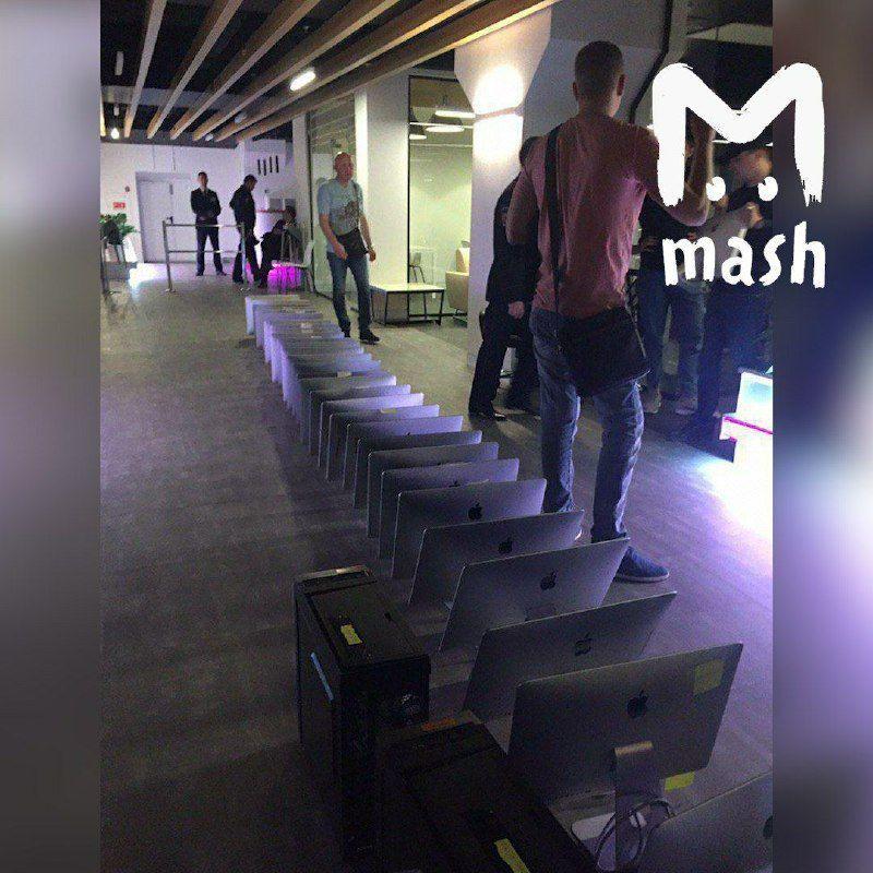обшуки в Mash