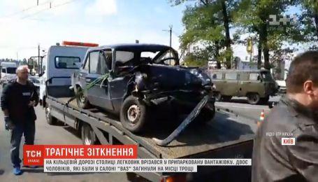 Двоє людей загинули внаслідок аварії у Києві