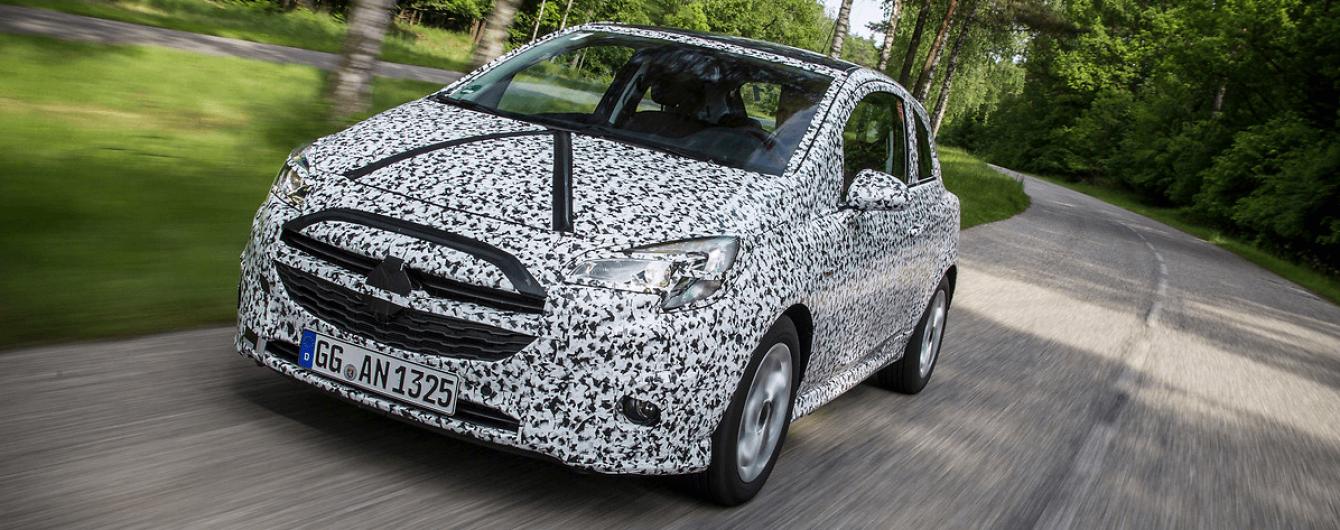 Opel представит бюджетный электрокар на базе Corsa
