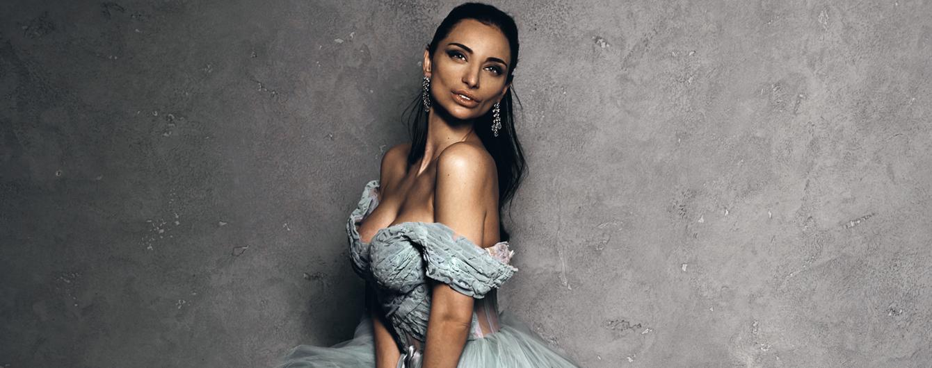 В роскошном образе: Кристина Шишпор станцует в украшениях за 12 миллионов гривен