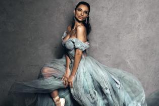 У розкішному образі: Христина Шишпор станцює у прикрасах за 12 мільйонів гривень