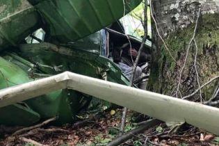 На україно-румунському кордоні знайшли розбитий вертоліт зі зниклим працівником білоруського Міноборони