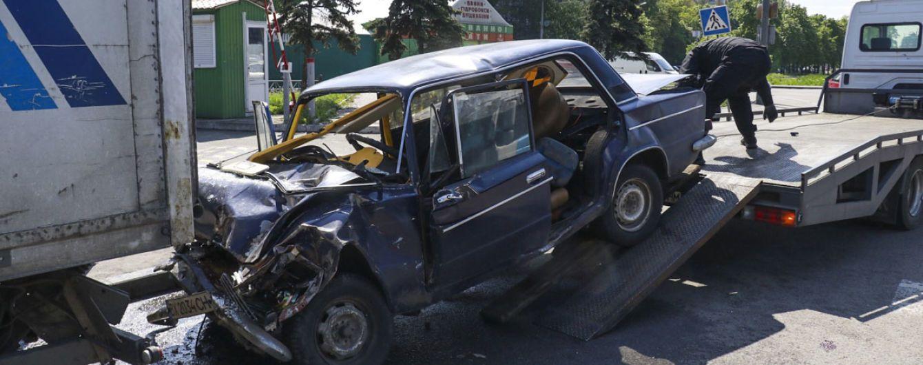 В інтернеті з'явилось відео смертельної ДТП з військовими на Кільцевій дорозі у Києві