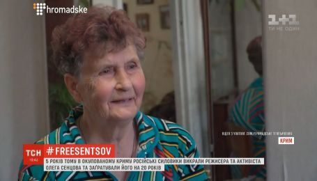 Мати Сенцова розповіла про розмови із сином