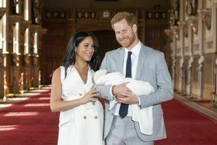 На честь Дня батька принц Гаррі та Меган показали зворушливе фото малюка