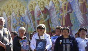 У Києві відбувся хід матерів загиблих українських військових: як це було