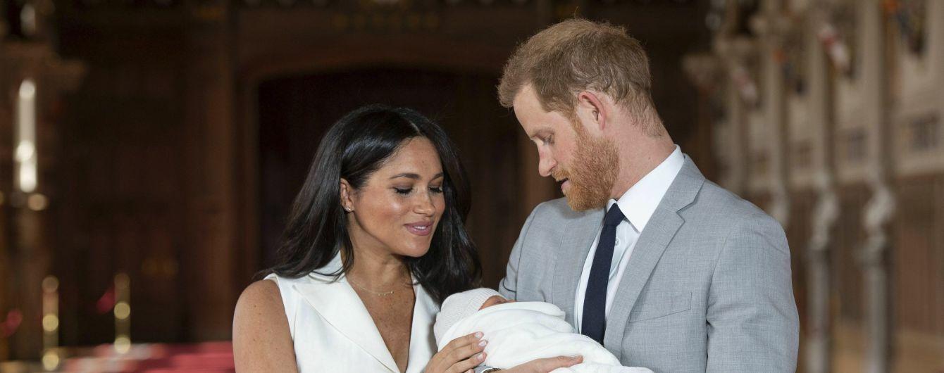Меган трогательным фото с сыном поздравила всех матерей с их днем