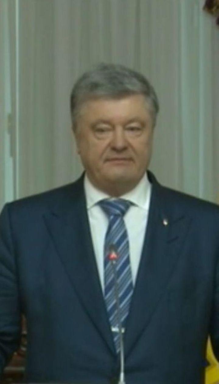 Период межвластия: споры об инаугурации и политическая активность Порошенко