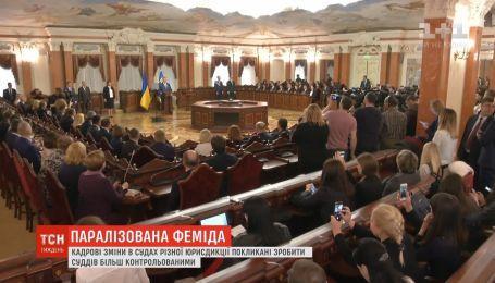 Судові пристрасті: нові члени Верховного суду, голова Антикорсуду, можлива відставка очільника КСУ