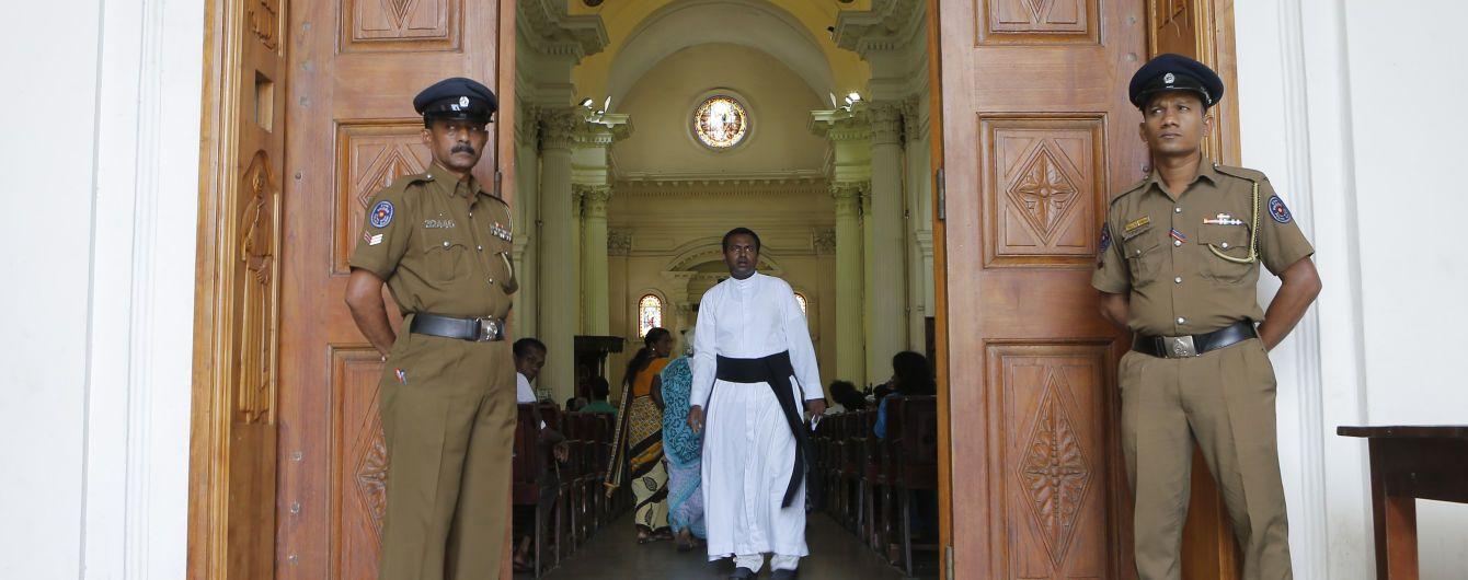 На Шрі-Ланці уперше за три тижні після терактів відбулася недільна меса в католицьких церквах