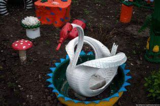 Учені встановили смертельну небезпеку скульптур із автомобільних покришок