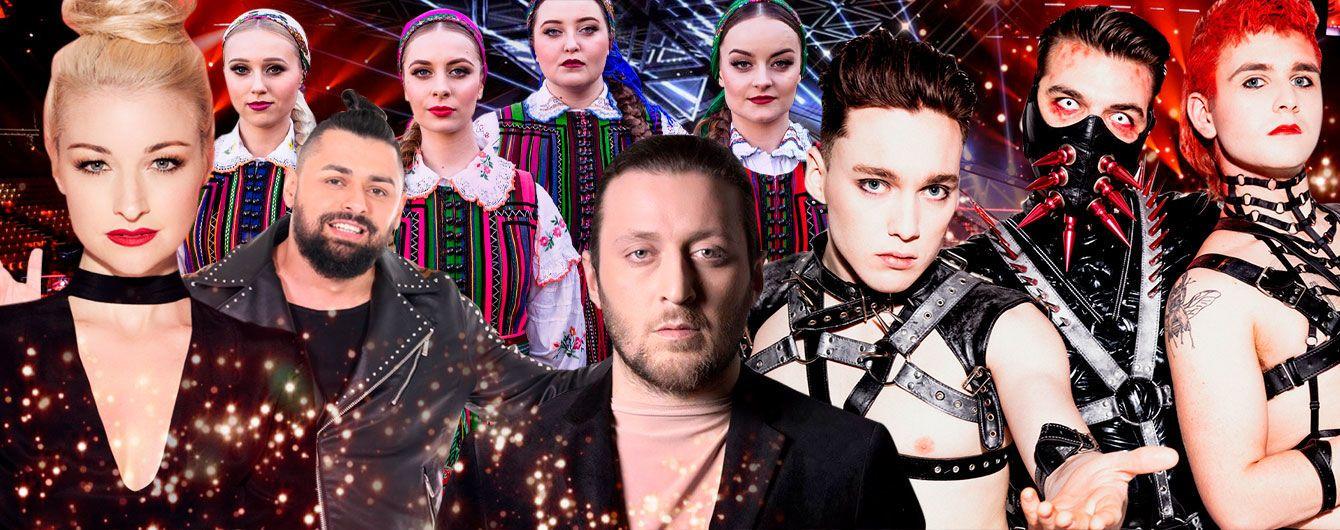 """""""Євробачення-2019"""": пісні учасників першого півфіналу конкурсу"""