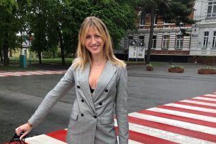 Леся Никитюк показала, как к маме в родной Хмельницкий съездила
