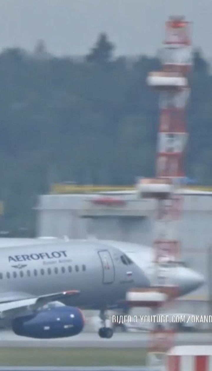 Российский самолет прервал рейс из-за сообщения о поломке