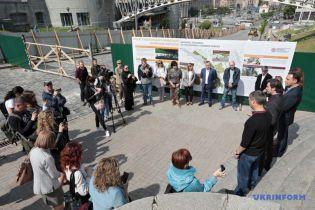 Работы по сооружению мемориала Героям Майдана в центре Киева приостановлены