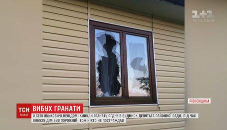 Гранату в дом лесничего бросили в Ровенской области