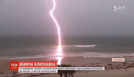 На Львівщині чоловіку в голову влучила блискавка