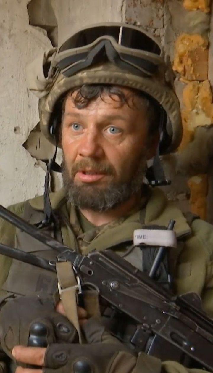 По всей линии фронта вражеские войска применяют тяжелое оружие