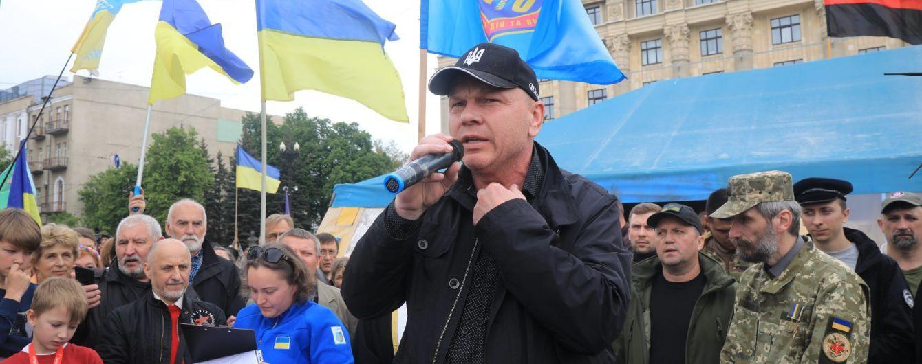 Пристрасті за наметом: на центральній площі Харкова волонтери захищаються від комунальників
