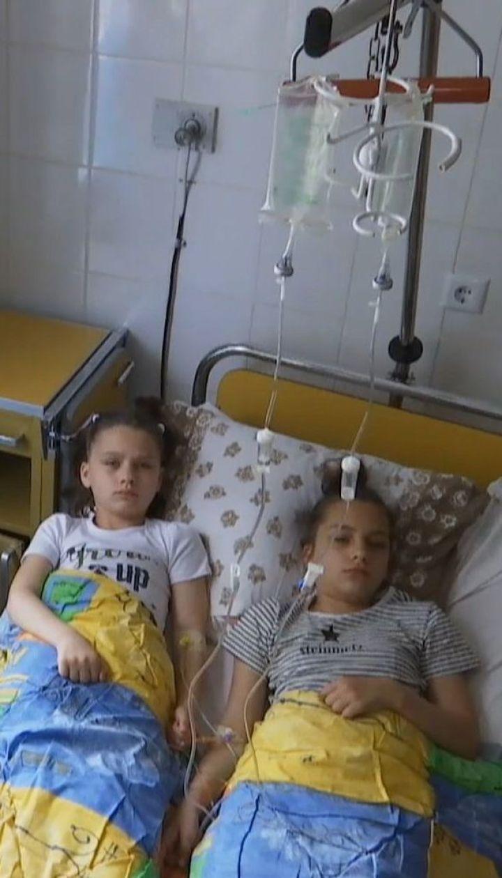 Унаслідок розпилення газу на Житомирщині 8 школярів потрапили у реанімацію