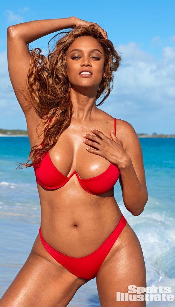 Тайра Бэнкс в фотосете для Sports Illustrated Swimsuit