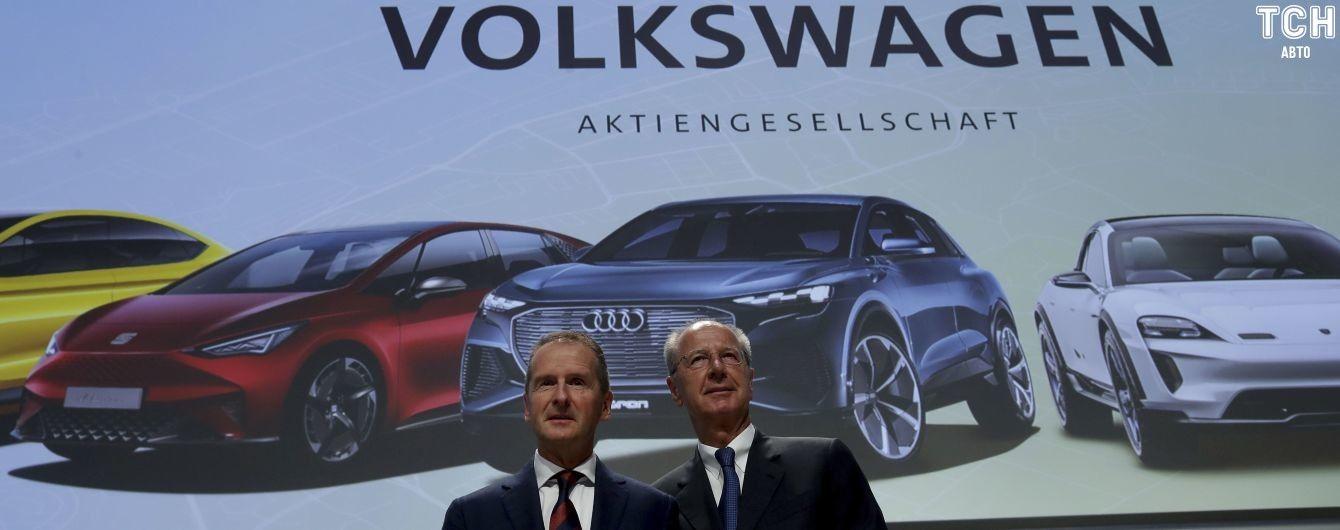 Volkswagen погрожує пустити з молотка бренди Bugatti і Lamborghini
