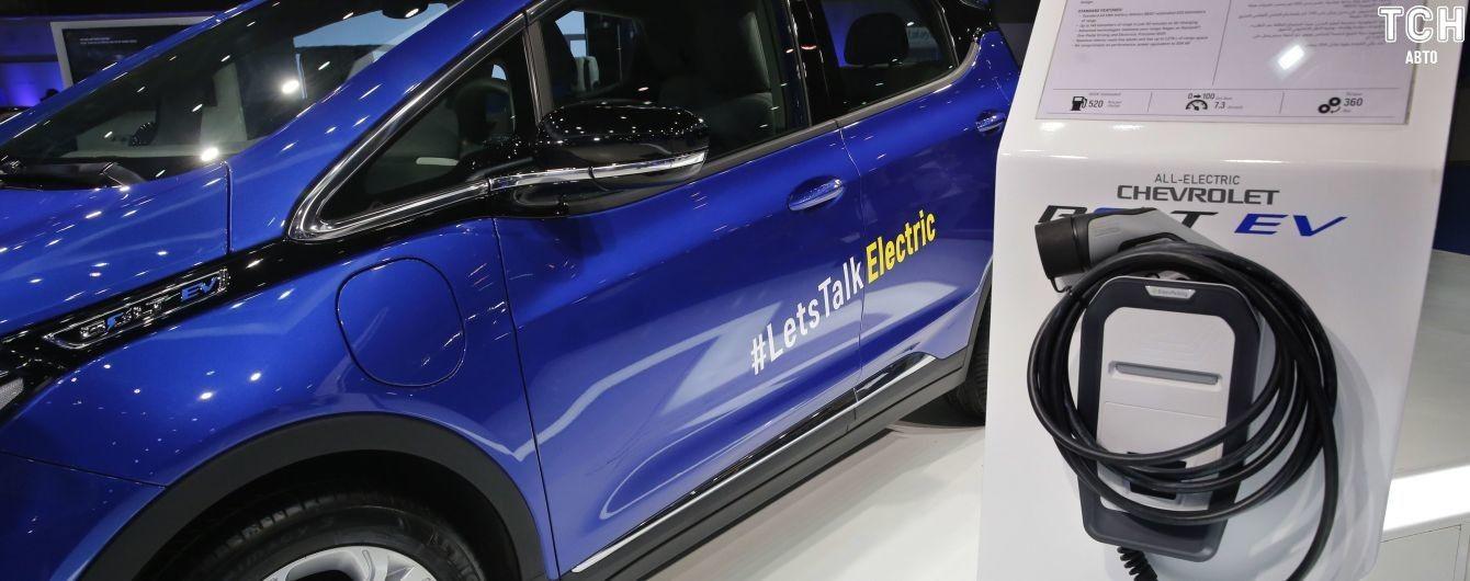 Появился рейтинг электрокаров, которые украинцы покупали в первом полугодии 2019 года