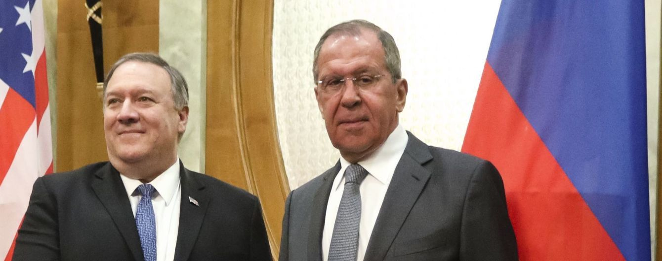 Зустріч Помпео з Лавровим у Сочі: що говорили про Україну