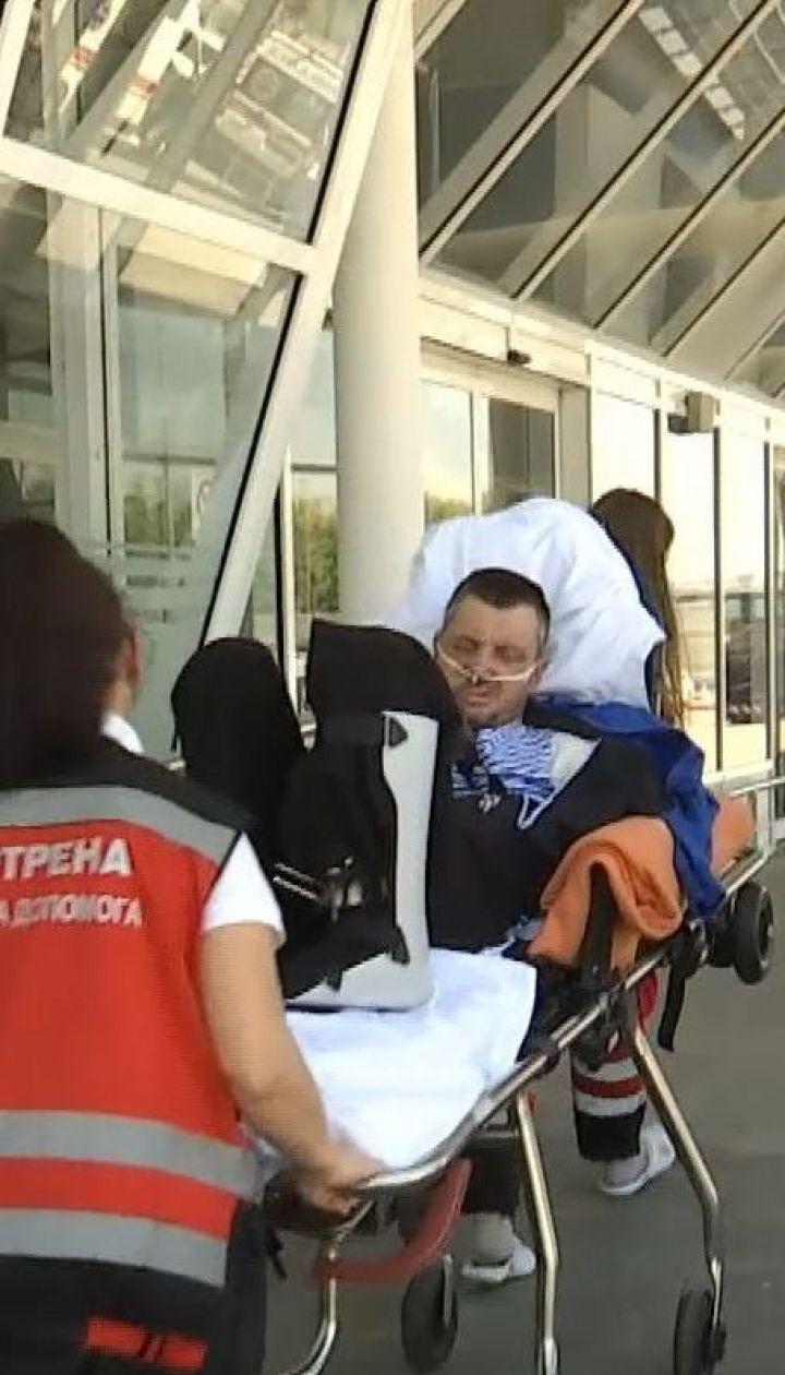 16-ро поранених бійців вилетіли на лікування у Німеччину