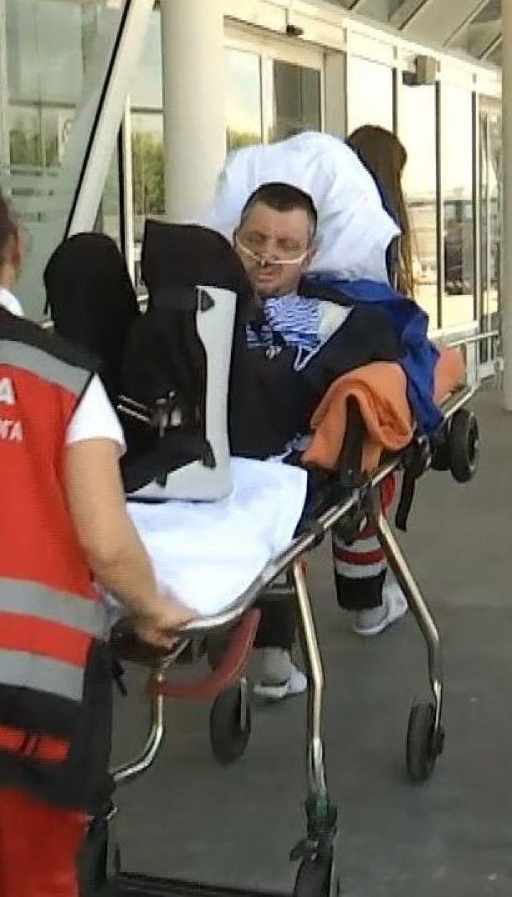 16-ть раненых бойцов вылетели на лечение в Германию