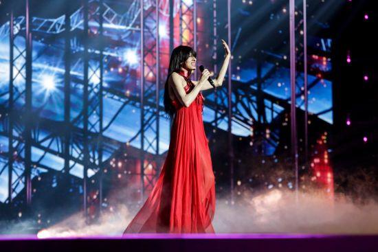 """Дана Інтернешнл повернулася: зірка виступила на """"Євробаченні"""" через 21 рік після тріумфу"""