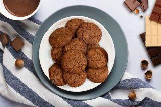 Печенье из молочного шоколада