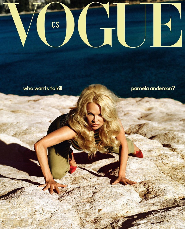 Памела Андерсон для Vogue_2