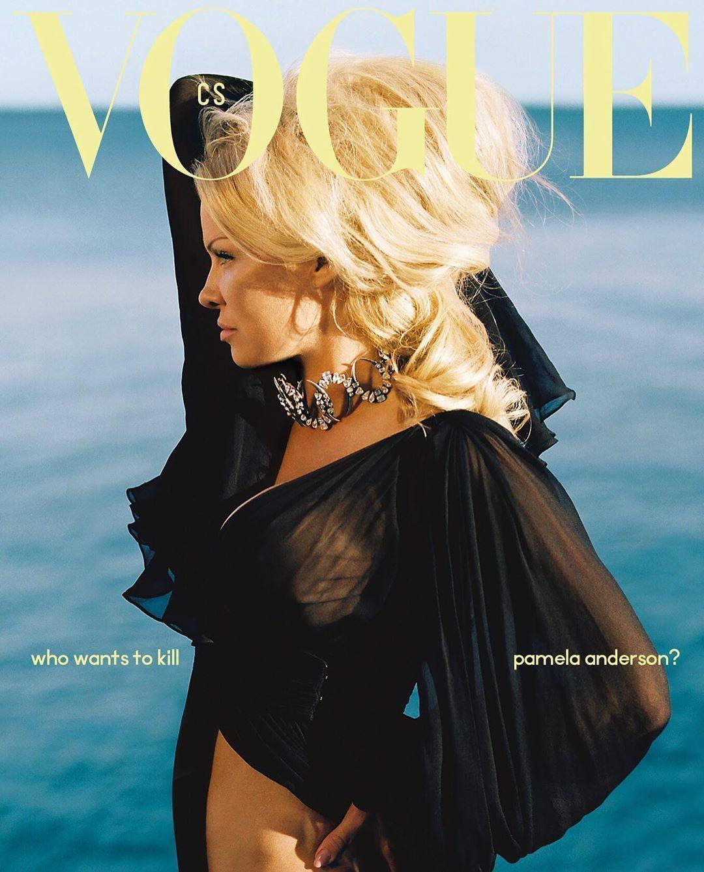 Памела Андерсон для Vogue_1
