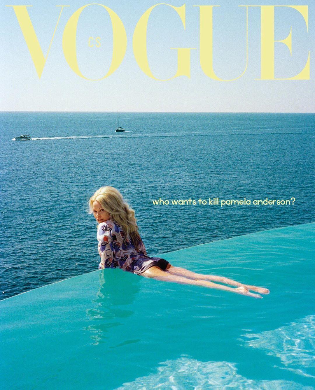 Памела Андерсон для Vogue_3