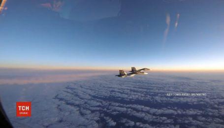 Винищувачі Угорщини та Британії перехопили літаки РФ
