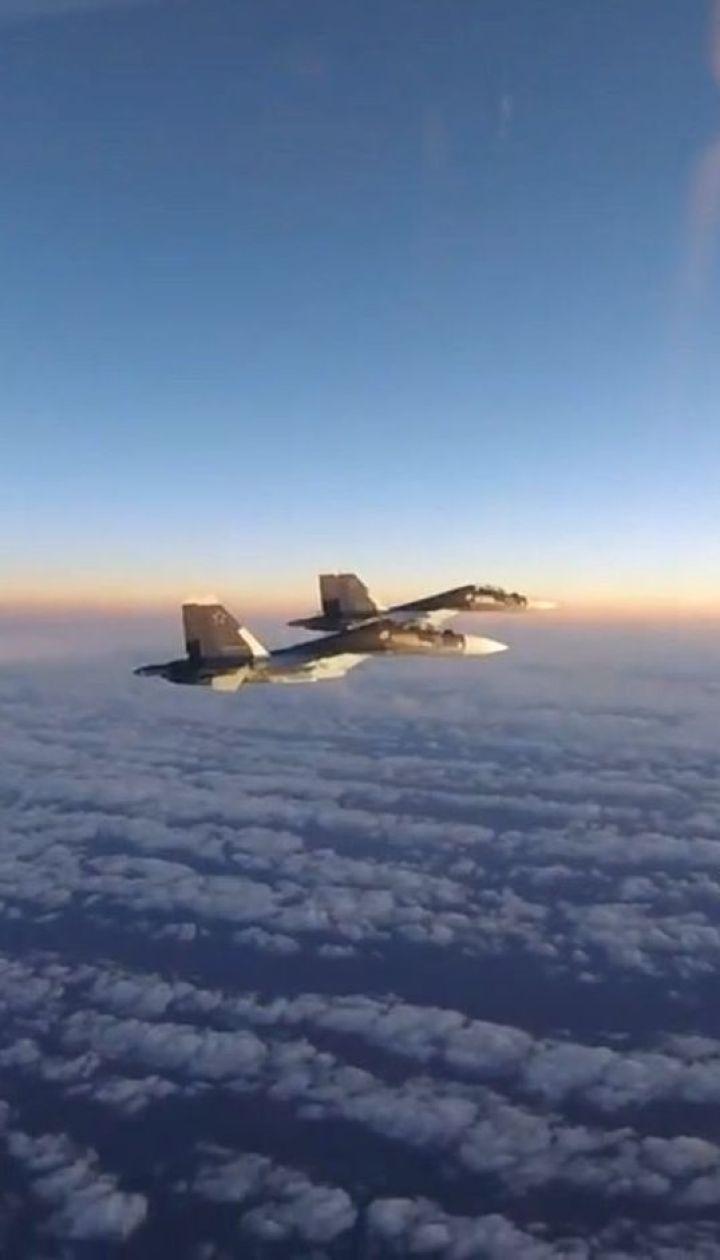 Истребители Венгрии и Великобритании перехватили самолеты РФ