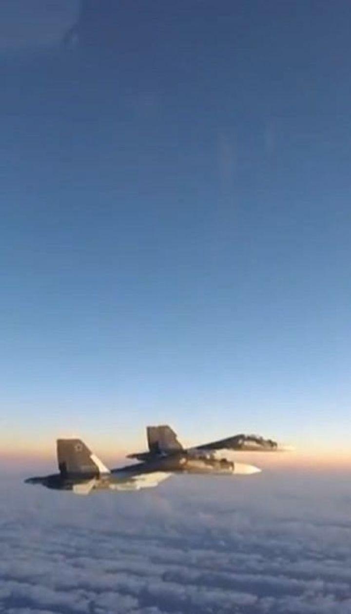 Два російські літаки за добу перехопили угорські та британські винищувачі