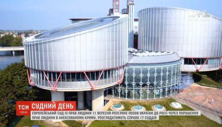 Европейский суд по правам человека объявил дату рассмотрения крымского иска Украины к России