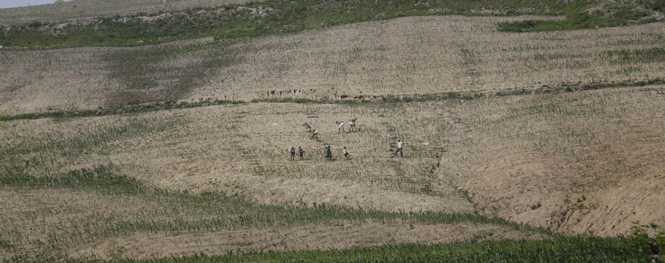 Северная Корея пожаловалась на крупнейшую за почти 40 лет засуху