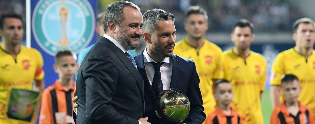 Марлоса признали лучшим футболистом Украины 2018 года
