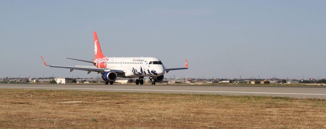 Азербайджанский лоукостер Buta Airways выполнил первый рейс изБаку в Одессу.