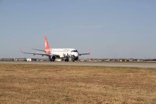 Азербайджанський лоукостер Buta Airways здійснив перший рейс з Баку до Одеси