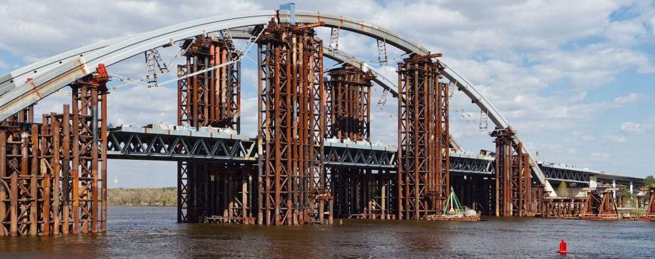 Кличко озвучил, когда в Киеве завершат Подольский мост-долгострой