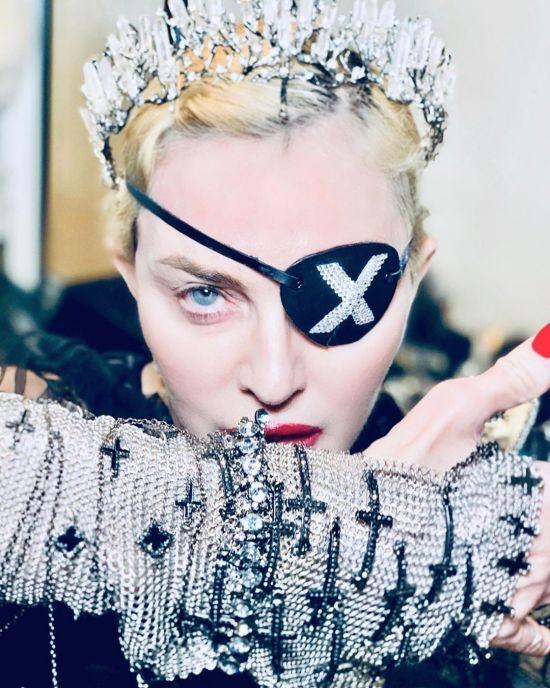 """""""Євробачення-2019"""": Мадонна показала, як готується запалити сцену"""